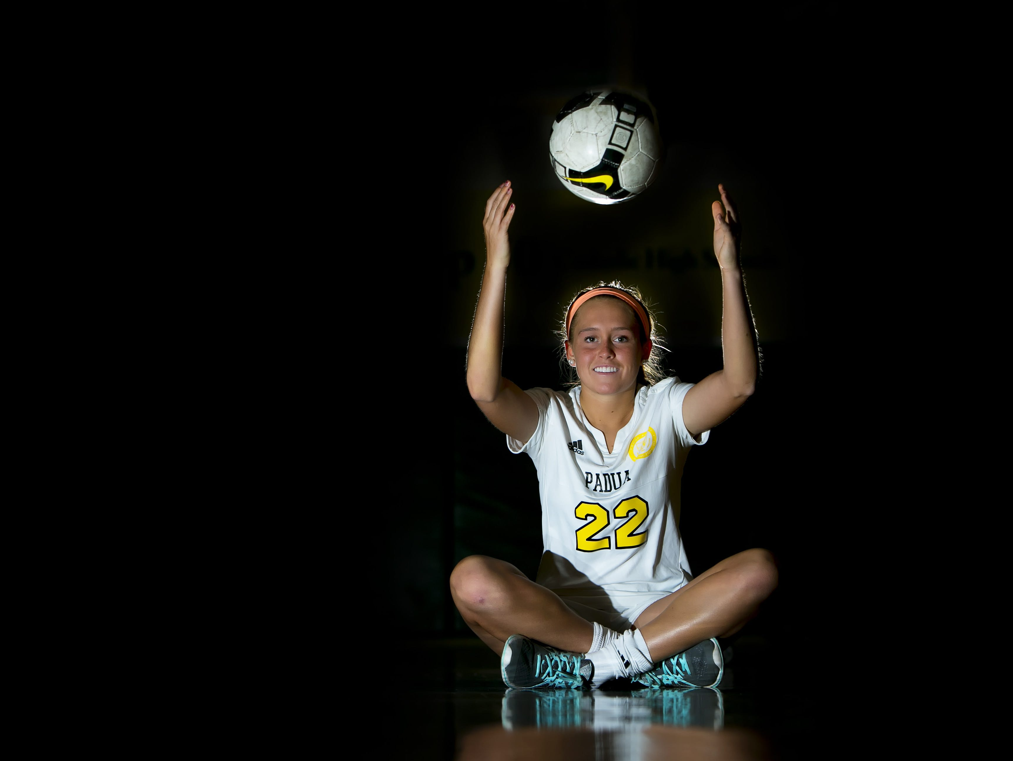 Padua Academy's Mackenzie Scully is state girls soccer Player of the Year.