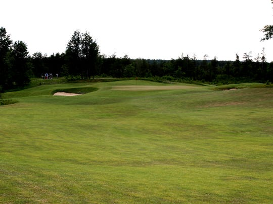The 12th hole on the Black course on The Loop in Roscommon.
