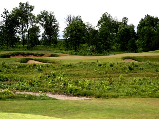 The sixth hole on the Red course on The Loop in Roscommon.
