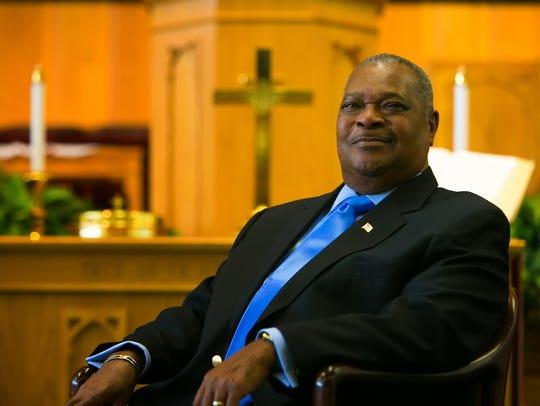Rev. Samuel Lathem, former preisdent of Delaware State