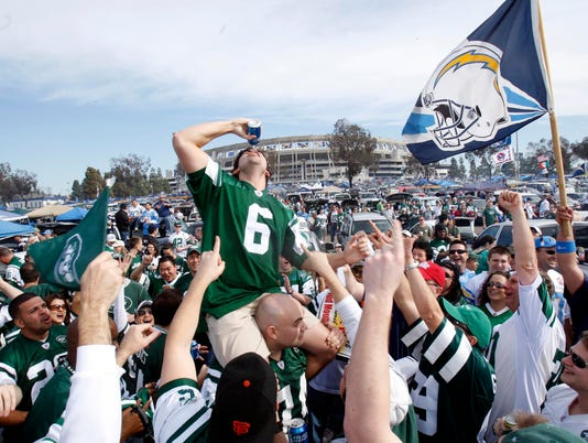 NFL: AFC Divisional Playoff-New York Jets at San Diego Chargers