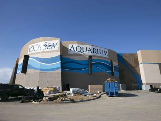 OdySea Aquarium, with more than 2 million gallons of