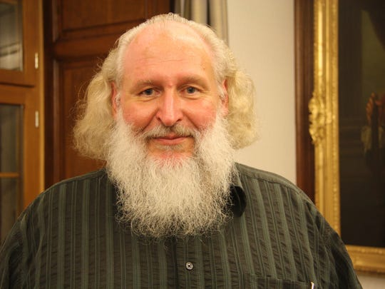 Michael Daum a former policeman is the new hermit in
