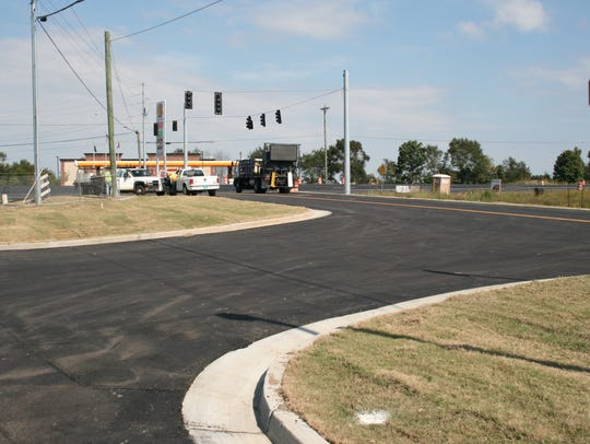 It replaces the Park & Ride at Exit 8, and will be