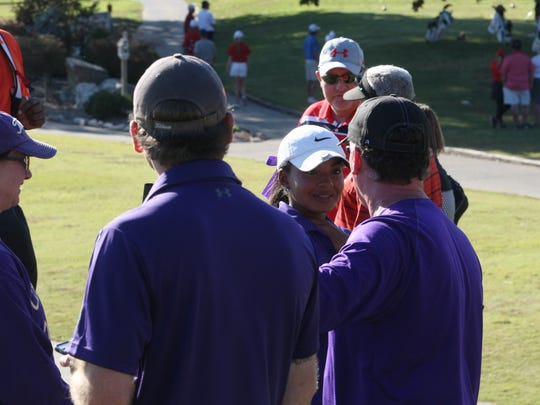 Clarksville's Mariah Smith became the first CHS golfer