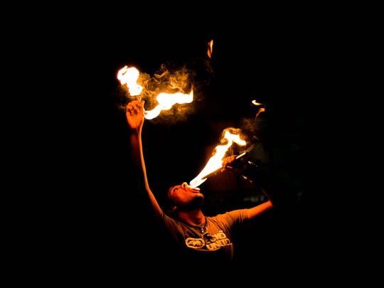Fire eaters use their mouths to extinguish flames.