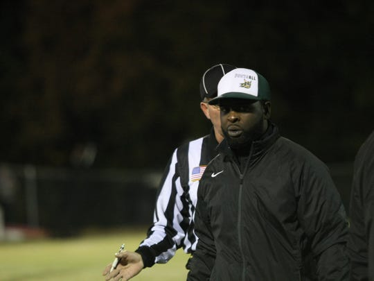 Northwest coach Vernon Wright walks away in disgust