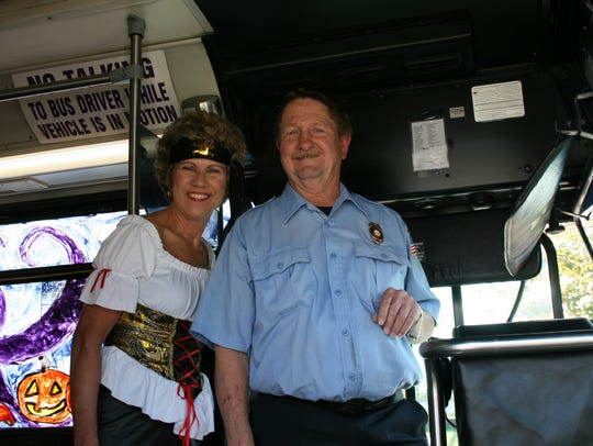 Clarksville Mayor Kim McMillan thanked CTS driver Danny