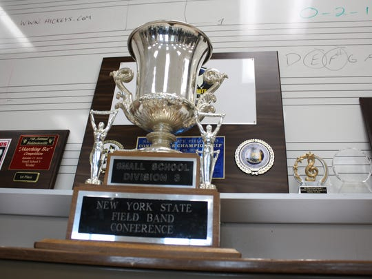Sunday's win was Vestal's first at the New York State Field Band Conference Championship.