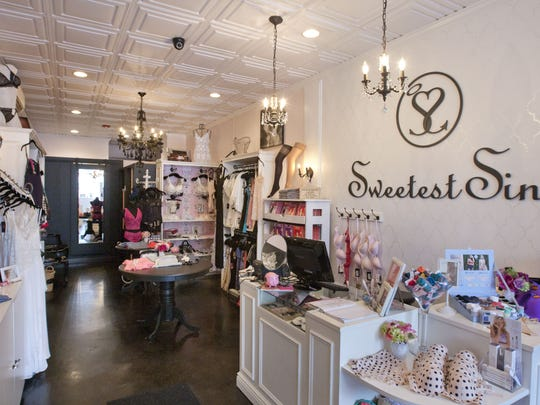 Sweetest Sin Boutique in Red Bank offers lingerie.