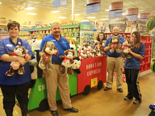 As part of its annual charity effort, PetSmart in Flemington will be selling plush toys, giving customers the opportunity to purchase a second toy that will be donated to Hunterdon Medical Center.