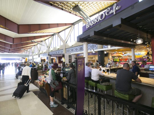 Barrio Cafe at Terminal 4 in Phoenix Sky Harbor International
