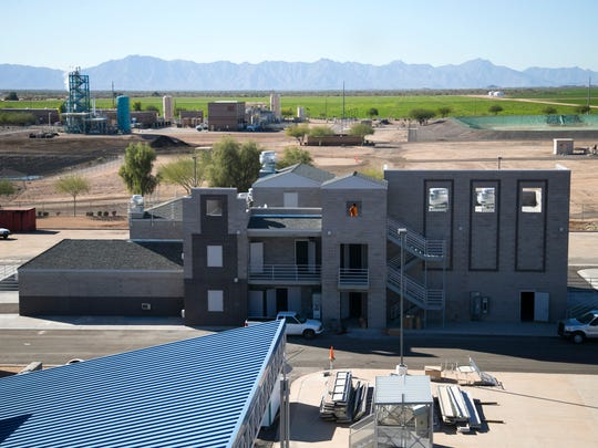 When it's finished in mid-2020, the Chandler public-safety