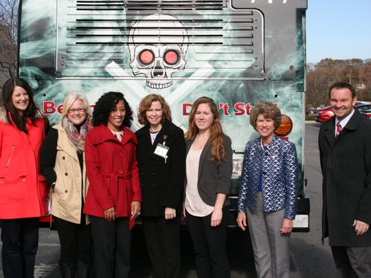 Members of the MCHD Health Education Team join Mayor