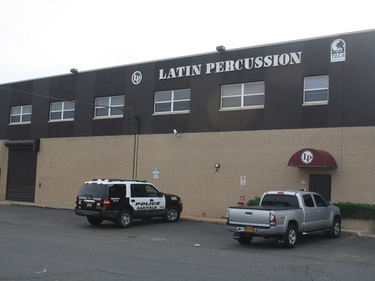 The former Latin Percussion building in Garfield is the temporary home of the Police Department. 2018 photo.