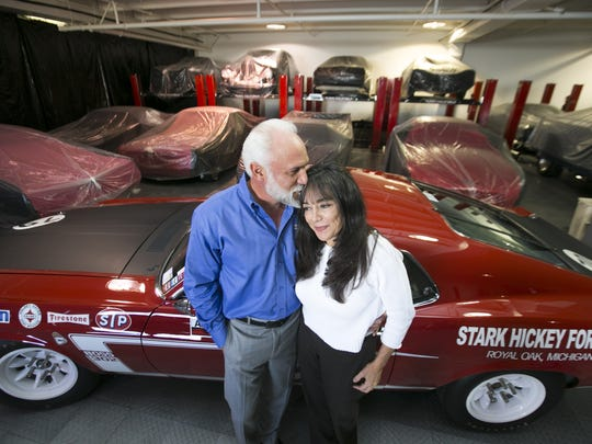 """While a husband-and-wife business partnership can be challenging, Drew and Josephine Alcazar have pulled it off without a hitch. Drew is the self-described """"shoot-from-the-hip, lunatic car guy,"""" while Josephine runs the business side of the company and provides the voice of financial reason."""