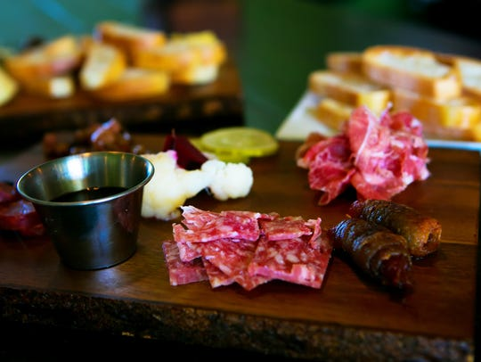 The Copperhead Saloon in Greenville offers charcuterie,