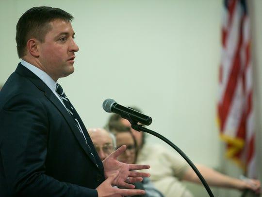 Sen. Bryan Townsend sponsored a bill to overhaul Delaware's unclaimed property program.