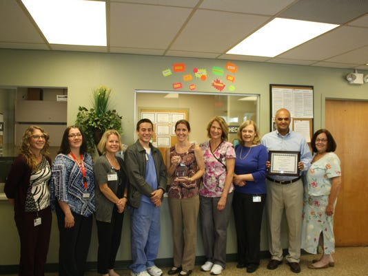 Heartbeats: Hunterdon Healthcare practices receive award for Outstanding Patient Satisfaction PHOTO CAPTION