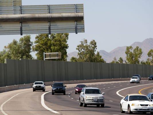Freeway wall