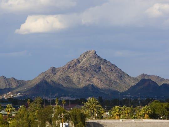 Piestewa Peak in Phoenix.