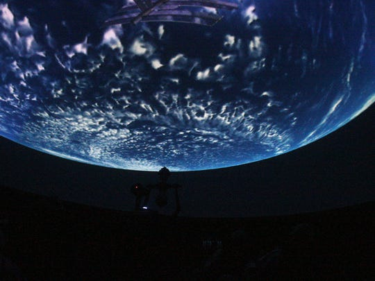 The Robert J. Novins Planetarium is a landmark of the