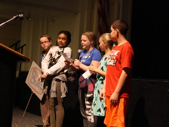 """Five Benjamin Franklin students suggest a Twilight Zone episode about bullying called """"shoe on the other foot."""""""