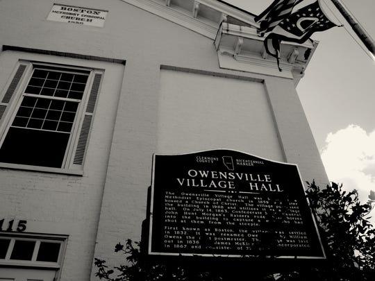 The Village of Owensville.