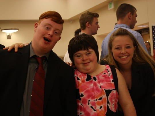 Timothy Gross VanPelt, JuliAnn Horton and Jessica Spencer