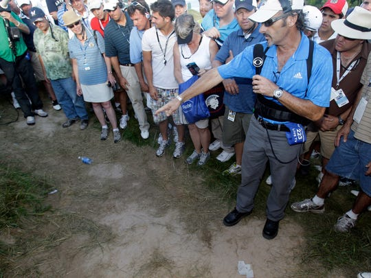 All eyes were on Whistling Straits in 2010 when Dustin Johnson was penalized two strokes for grounding his club in an unkempt bunker on the 18th hole on the final day of the PGA Championship.