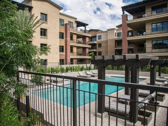 The Enclave at Borgata luxury condos in Paradise Valley