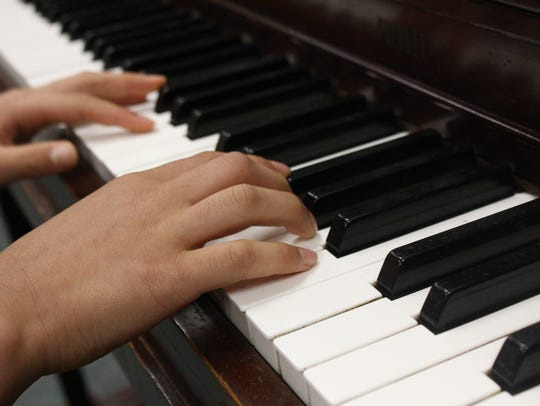 "Ian Chung, 11, of Vestal, first composed ""Etude in"
