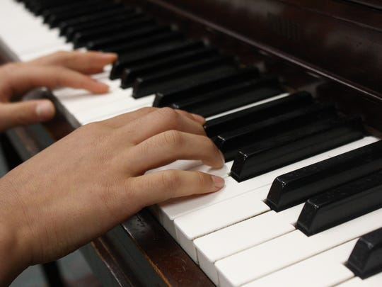 """Ian Chung, 11, of Vestal, first composed """"Etude in"""