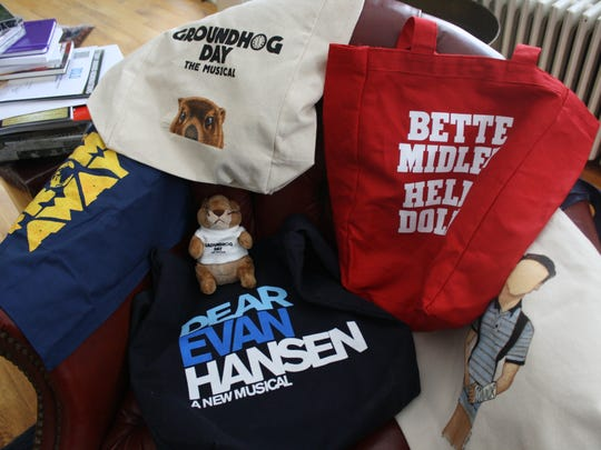 It is typical for Tony contenders to send merchandise