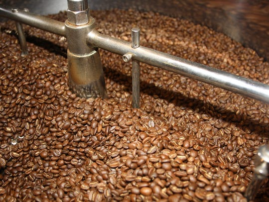 Beans at Hendersonville's Independent Bean Roasters,
