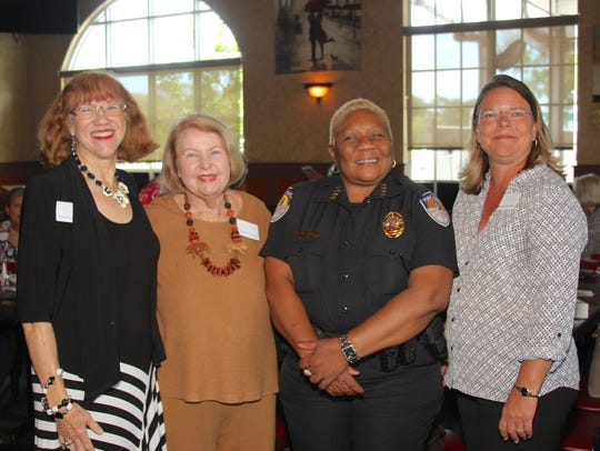 From left, Port St. Lucie Business Women Program Chair