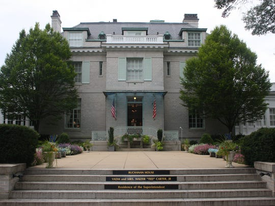 Buchanan House, residence of the superintendent of
