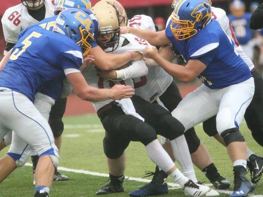 Clarksville Academy's defense stops Zion Christian