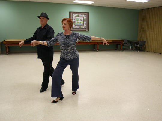 Francine Stein and Chuck Williamson are long-time dance