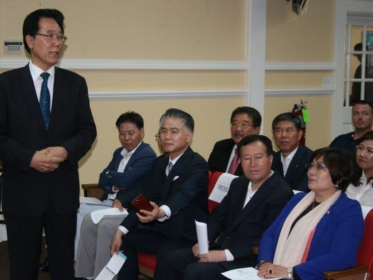 Gunpo Mayor Kim Yoon Joo and the Gunpo Sister City