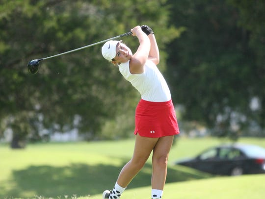 Rossview's Catherine Caudill finished region runner-up