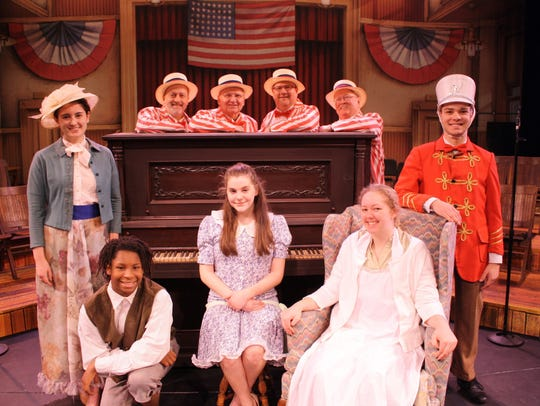 "Members of Binghamton High School's Rod Serling School of Fine Arts performed in ""The Music Man"" in March of 2017."