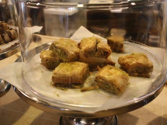 Baklava at Sahara Restaurant.