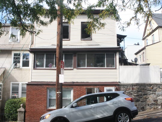 A fire significantly damaged a house at 48 Fourth St.