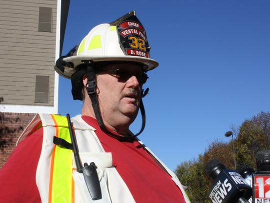 Douglas Rose, the First Assistant Chief of the Vestal Fire Department