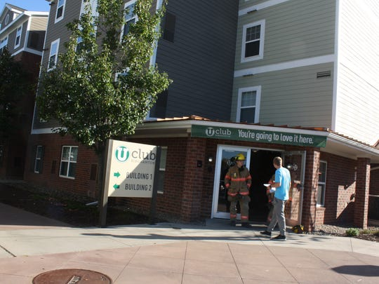 A fire in the U Club apartment building in University Plaza in Vestal has been extinguished.