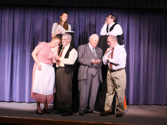 """Monmouth Players' production of Thornton Wilder's """"Our"""