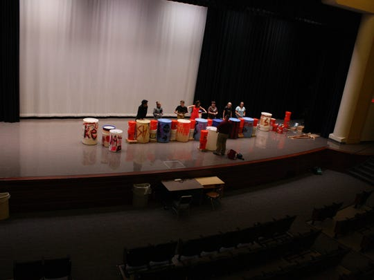 Smash rehearses after school in East Middle School's