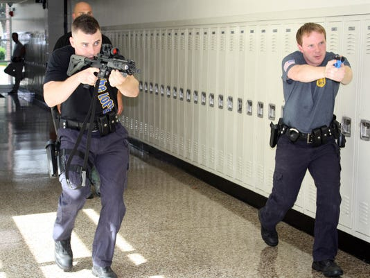 Hasbrouck Heights shooter drill