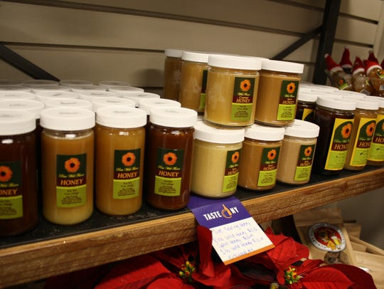 Sue Garing honey products are found in the Taste NY